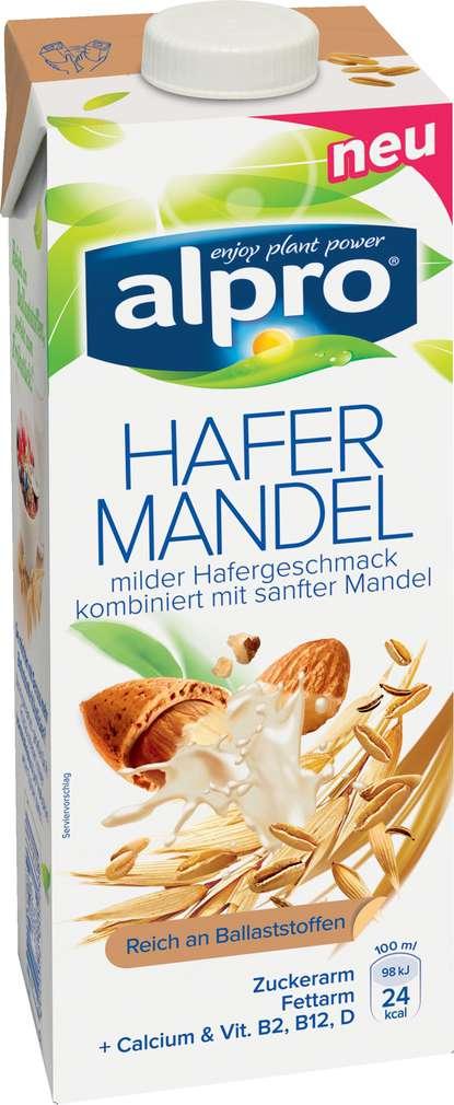 Abbildung des Sortimentsartikels Alpro Hafer-Mandeldrink vegan 1,0l