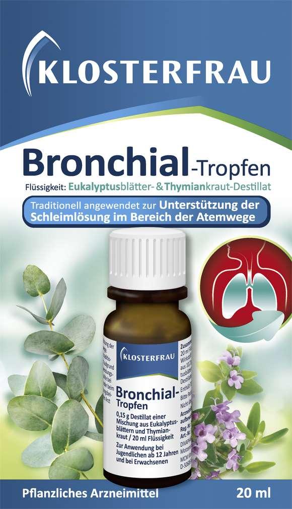 Abbildung des Sortimentsartikels Klosterfrau Bronchial-Tropfen 20ml