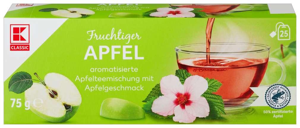 Abbildung des Sortimentsartikels K-Classic Früchtetee Apfel 25x3,0g