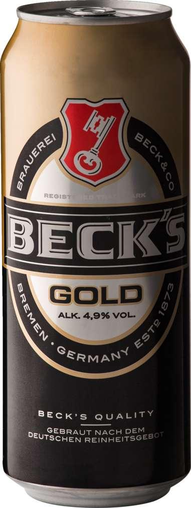 Abbildung des Sortimentsartikels Beck's Gold 0,5l
