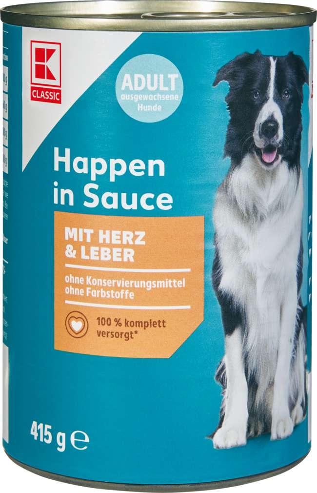 Abbildung des Sortimentsartikels K-Classic Hundenahrung Herz und Leber 415g