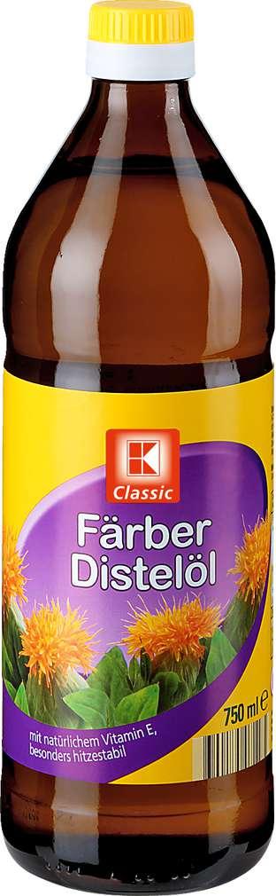 Abbildung des Sortimentsartikels K-Classic Färber-Distelöl 750ml