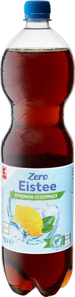 Abbildung des Sortimentsartikels K-Classic Eistee Zitrone Zero 1,5l