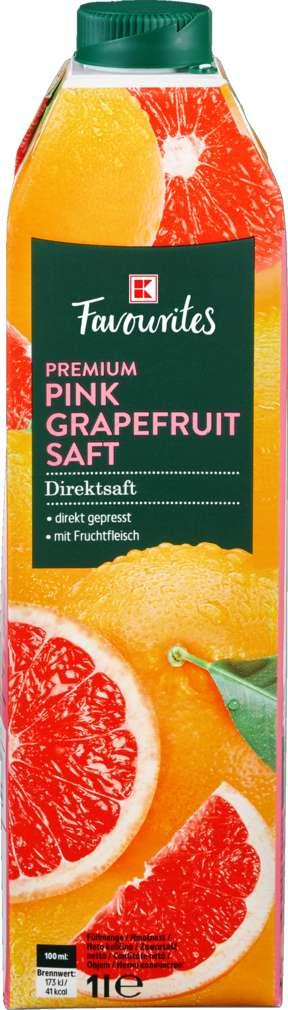 Abbildung des Sortimentsartikels K-Favourites Pink Grapefruit Direktsaft 1,0l