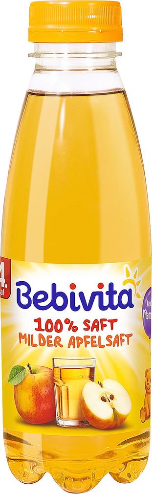Abbildung des Sortimentsartikels Bebivita 100% Saft Milder Apfel 0,5l