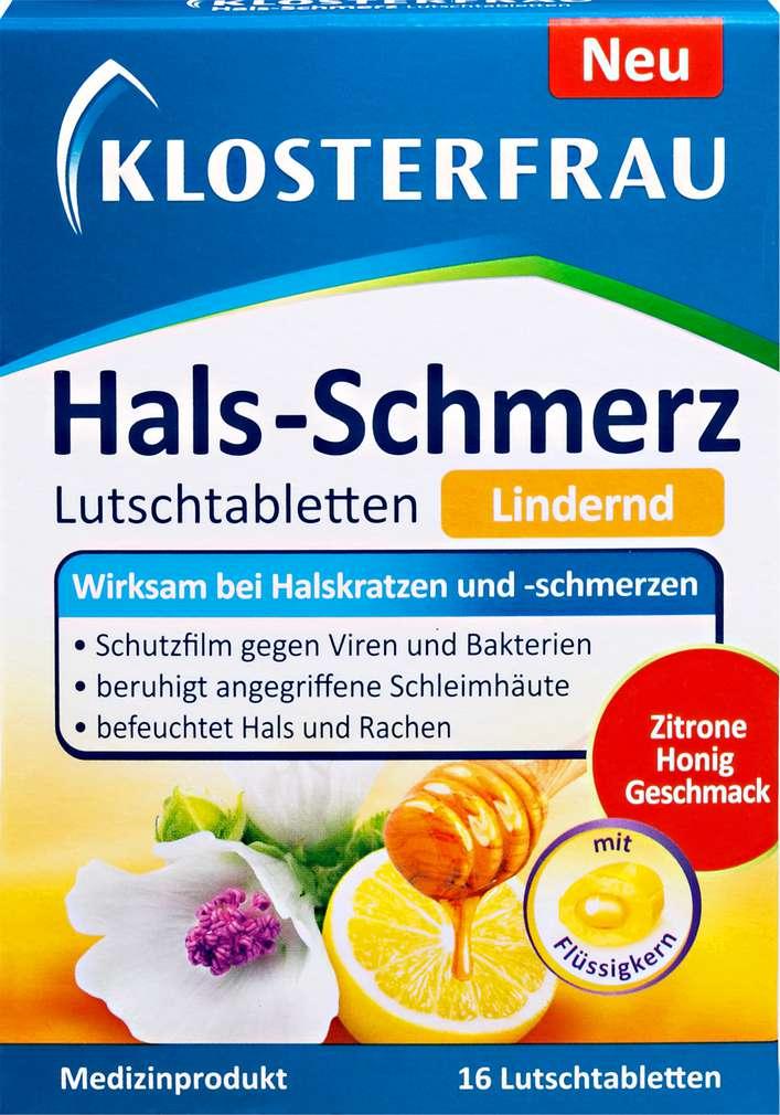 Abbildung des Sortimentsartikels Klosterfrau Hals-Schmerz 16 Stück