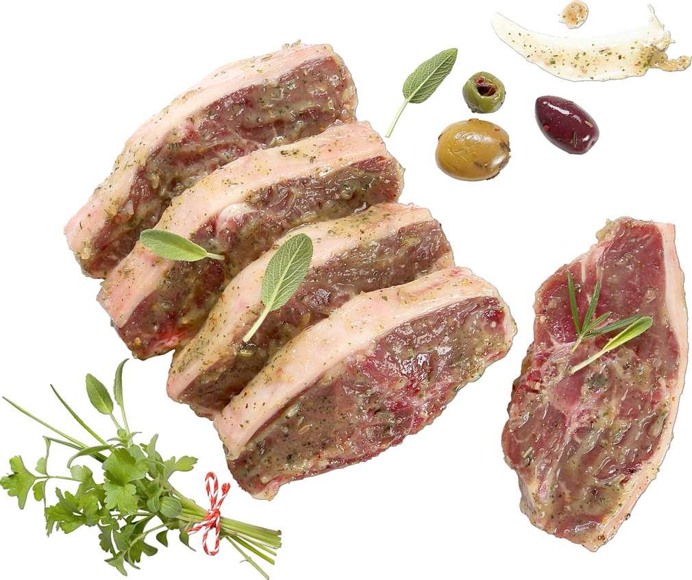 Abbildung des Sortimentsartikels  Lammkotelett mit Kräutermarinade