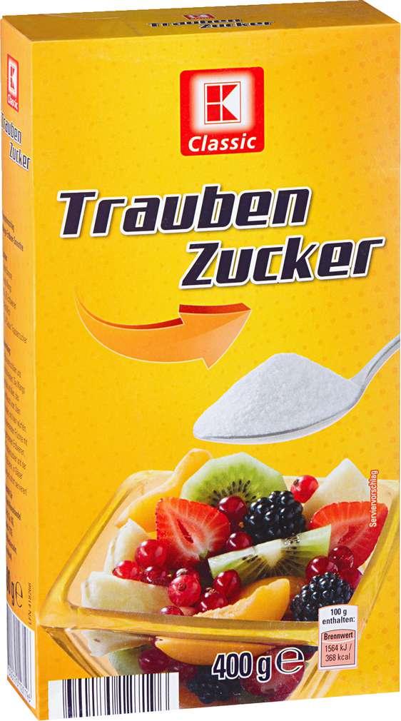 Abbildung des Sortimentsartikels K-Classic Traubenzucker 400g