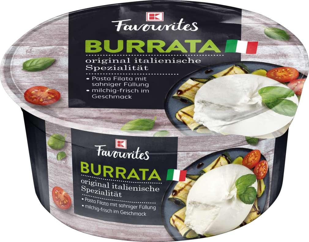 Abbildung des Sortimentsartikels K-Favourites Burrata Ital. Pasta Filata 125g