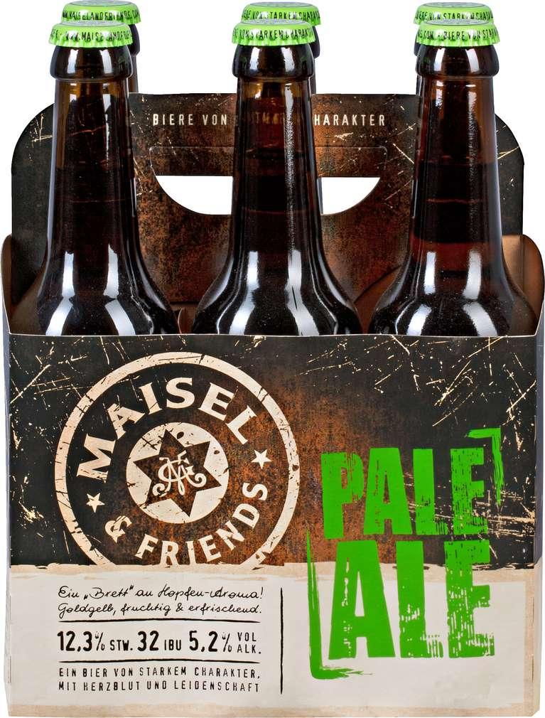 Abbildung des Sortimentsartikels Maisel & Friends Pale Ale 6x0,33l