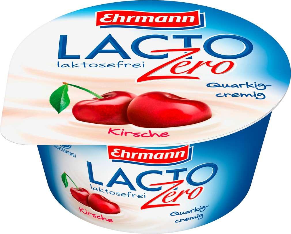 Abbildung des Sortimentsartikels Ehrmann LACTO Zero Quark-Joghurt-Creme Kirsche 135g