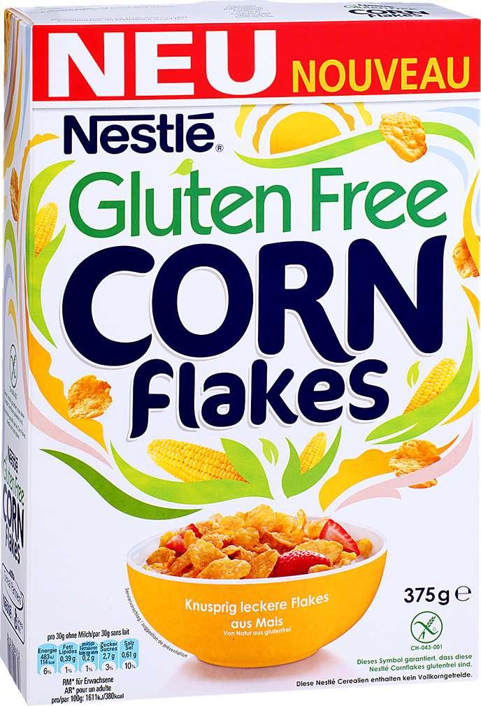 Abbildung des Sortimentsartikels Nestlé Cornflakes glutenfrei 375g