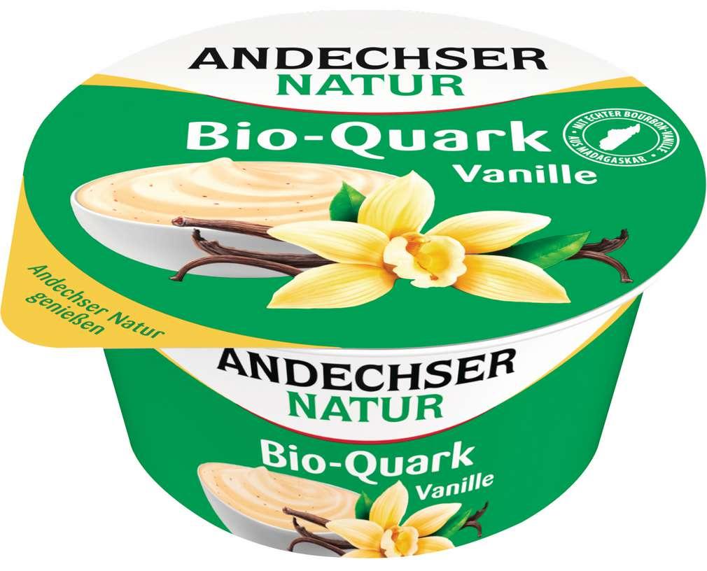 Abbildung des Sortimentsartikels Andechser Natur Bio-Fruchtquark Vanille 150g