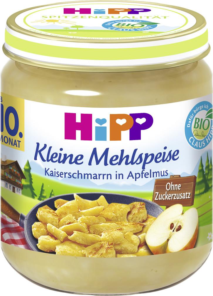 Abbildung des Sortimentsartikels Hipp Kleine Mehlspeise Kaiserschmarrn in Apfelmus 200g