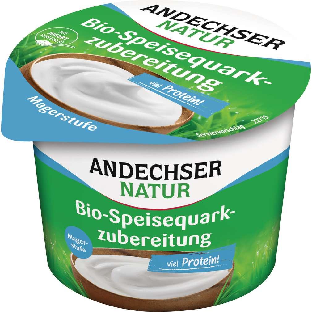 Abbildung des Sortimentsartikels Andechser Natur Bio-Speisequarkzubereitung Magerstufe 250g