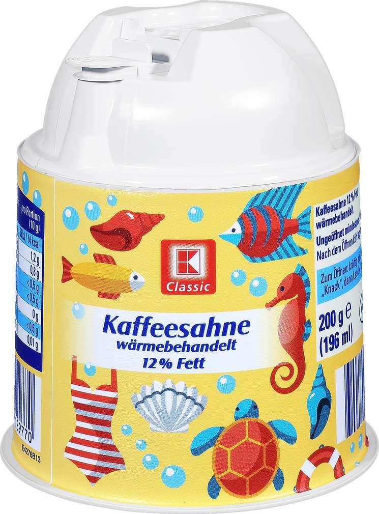 Abbildung des Sortimentsartikels K-Classic Kaffeesahne 12% 200g