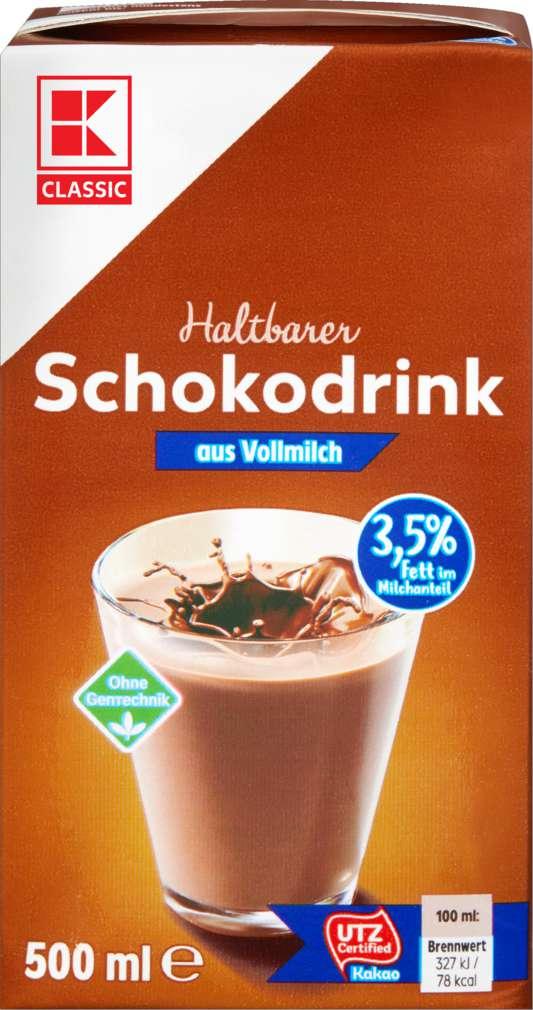 Abbildung des Sortimentsartikels K-Classic Schokodrink 3,5% 500ml