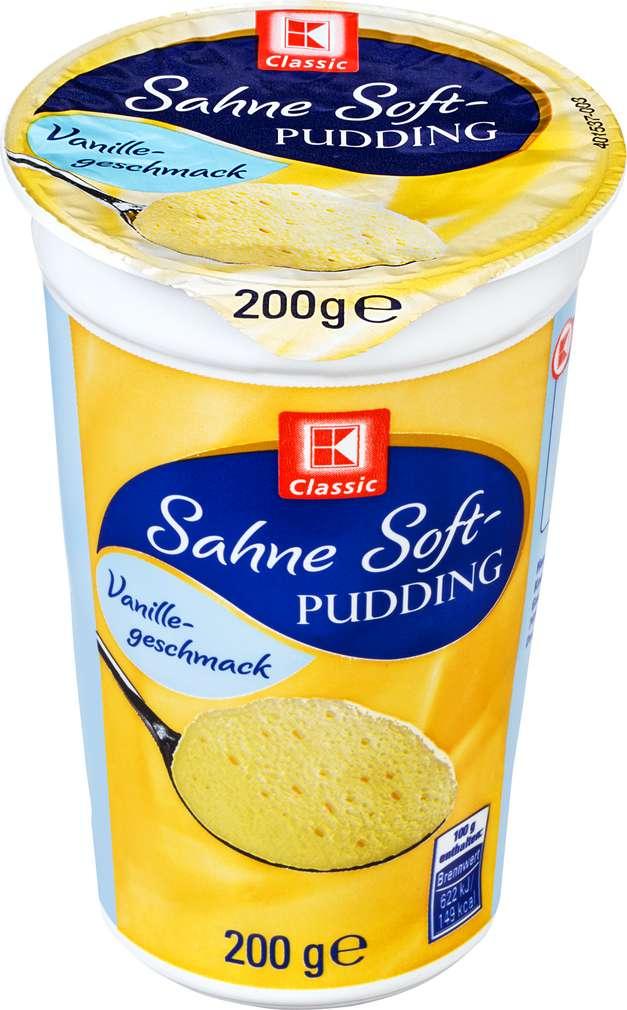 Abbildung des Sortimentsartikels K-Classic Sahne Softpudding Vanillegeschmack 200g