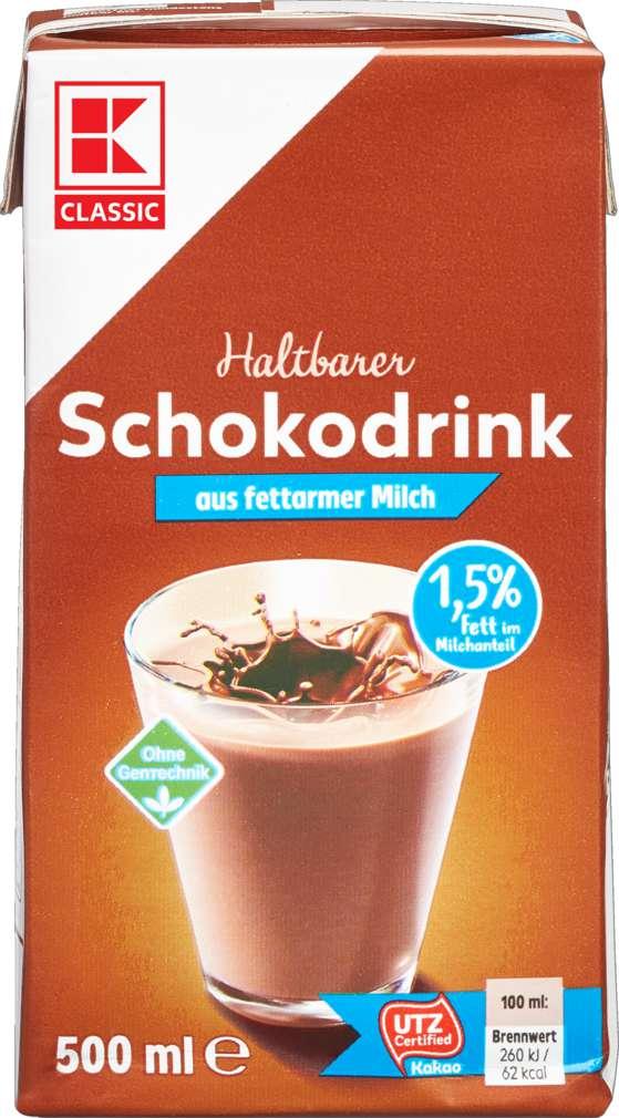Abbildung des Sortimentsartikels K-Classic Schokodrink 1,5% 500ml