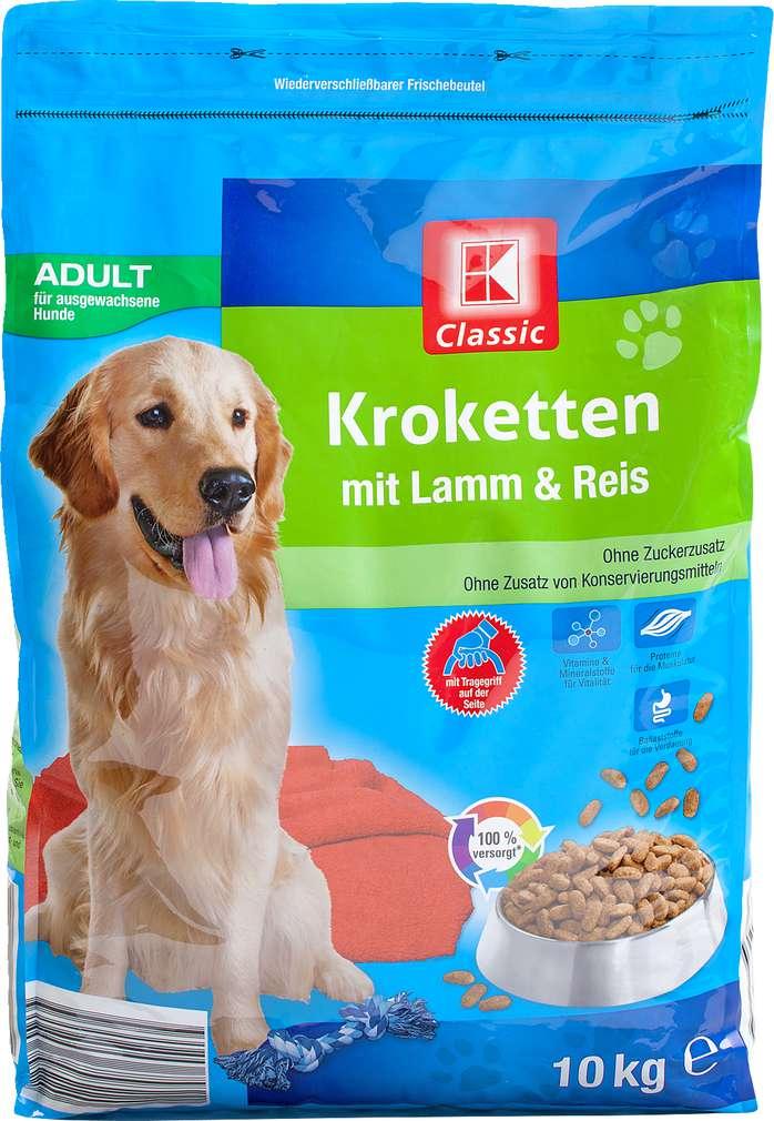 Abbildung des Sortimentsartikels K-Classic Kroketten Adult mit Lamm & Reis 10kg