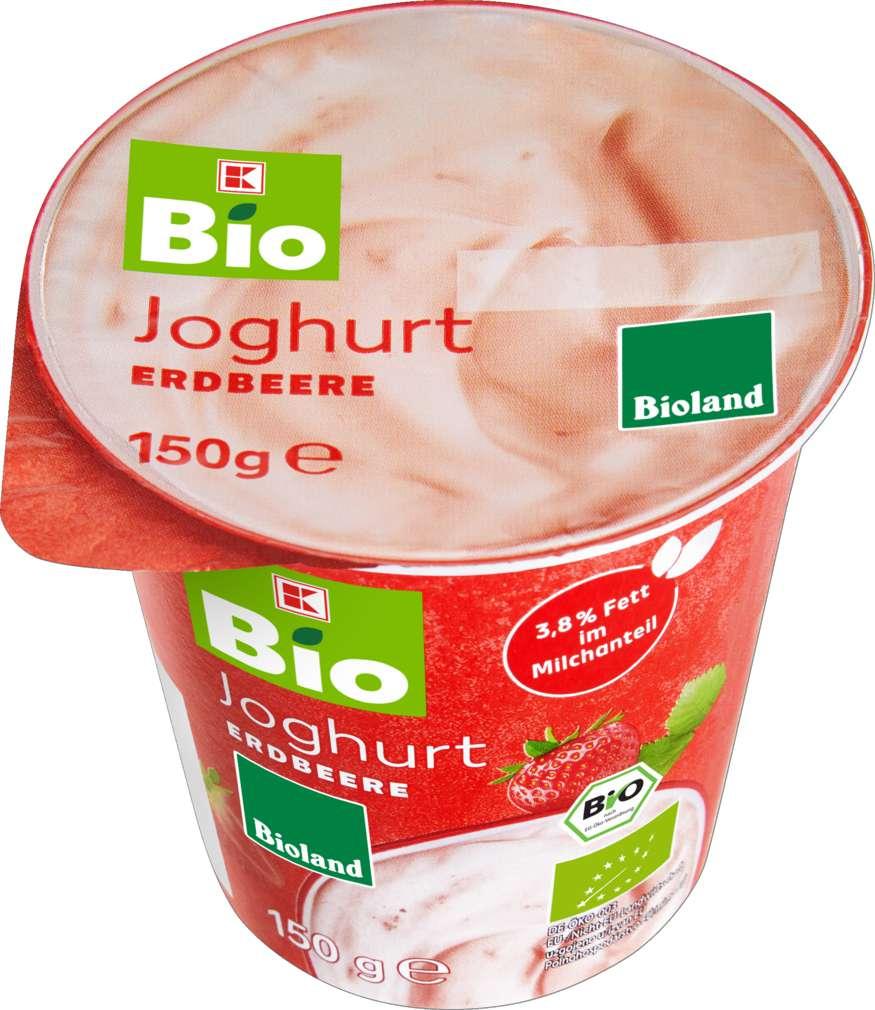 Abbildung des Sortimentsartikels K-Bio Joghurt Erdbeere 150g