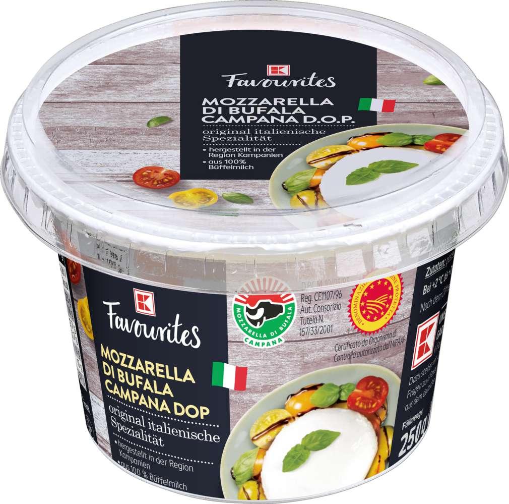 Abbildung des Sortimentsartikels K-Favourites Büffelmozzarella ital. Pasta Filata 125g