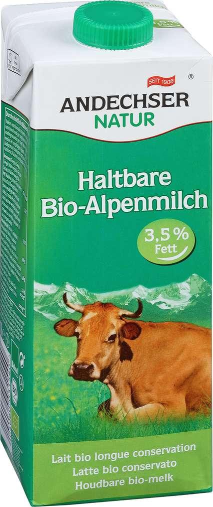Abbildung des Sortimentsartikels Andechser Natur Bio Alpenmilch 3,5% 1l