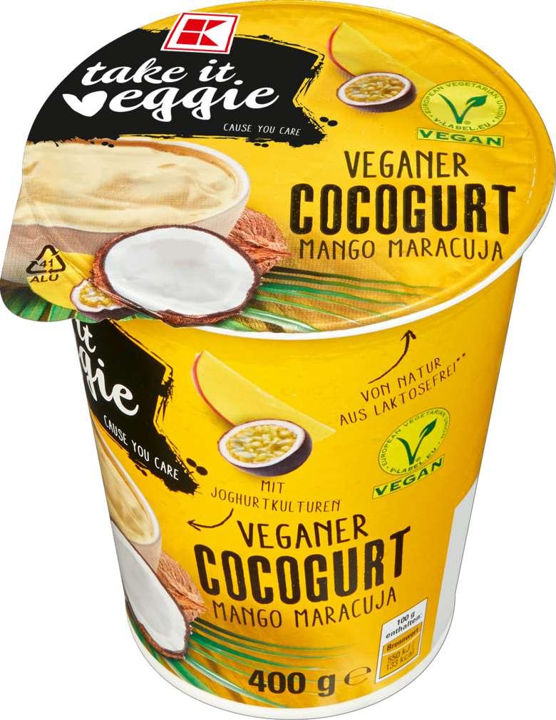 Abbildung des Sortimentsartikels K-Take it Veggie Kokosjoghurt Mango/Maracuja 400g