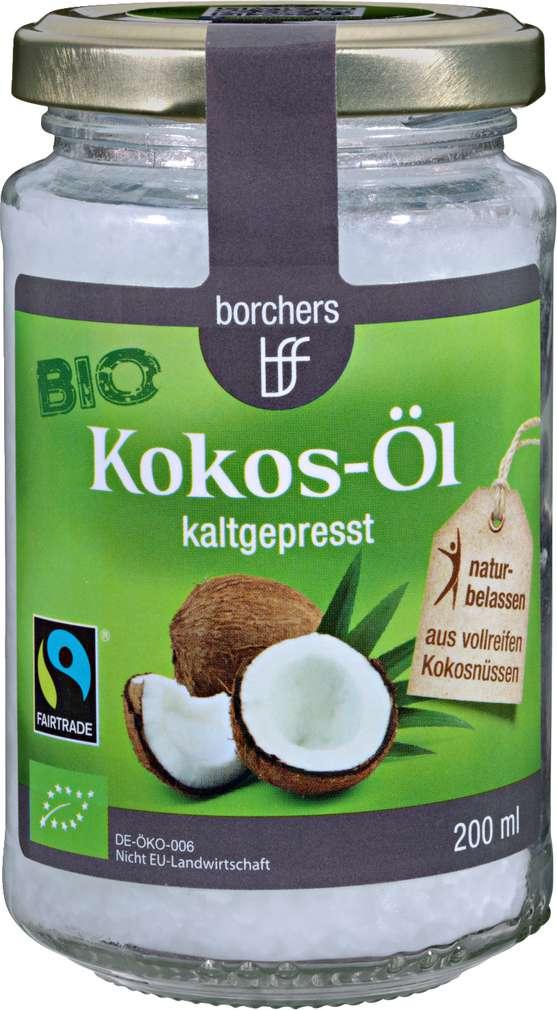 Abbildung des Sortimentsartikels Borchers Bio Kokos-Öl kaltgepresst 200ml
