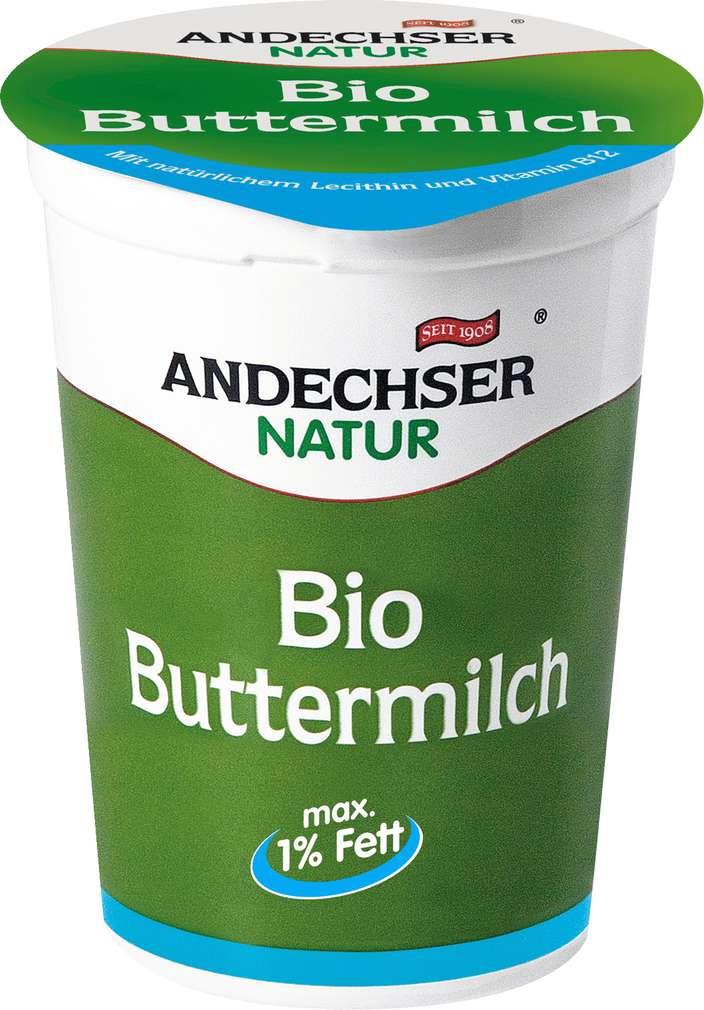 Abbildung des Sortimentsartikels Andechser Natur Bio Buttermilch 1% 500g