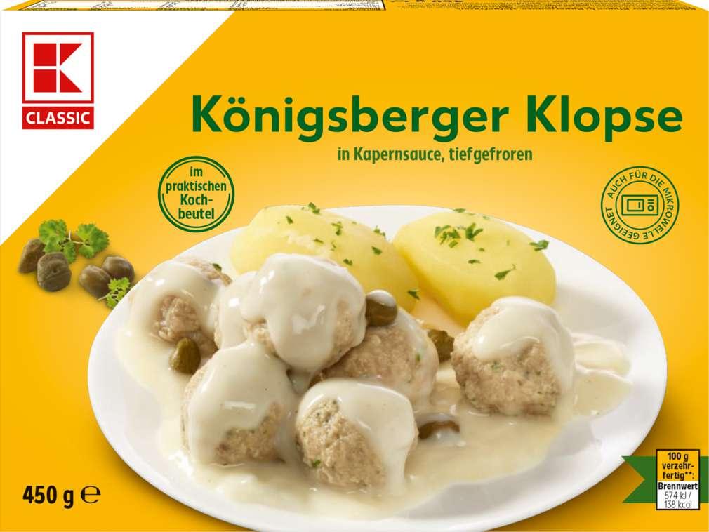 Abbildung des Sortimentsartikels K-Classic Königsberger Klopse 405g