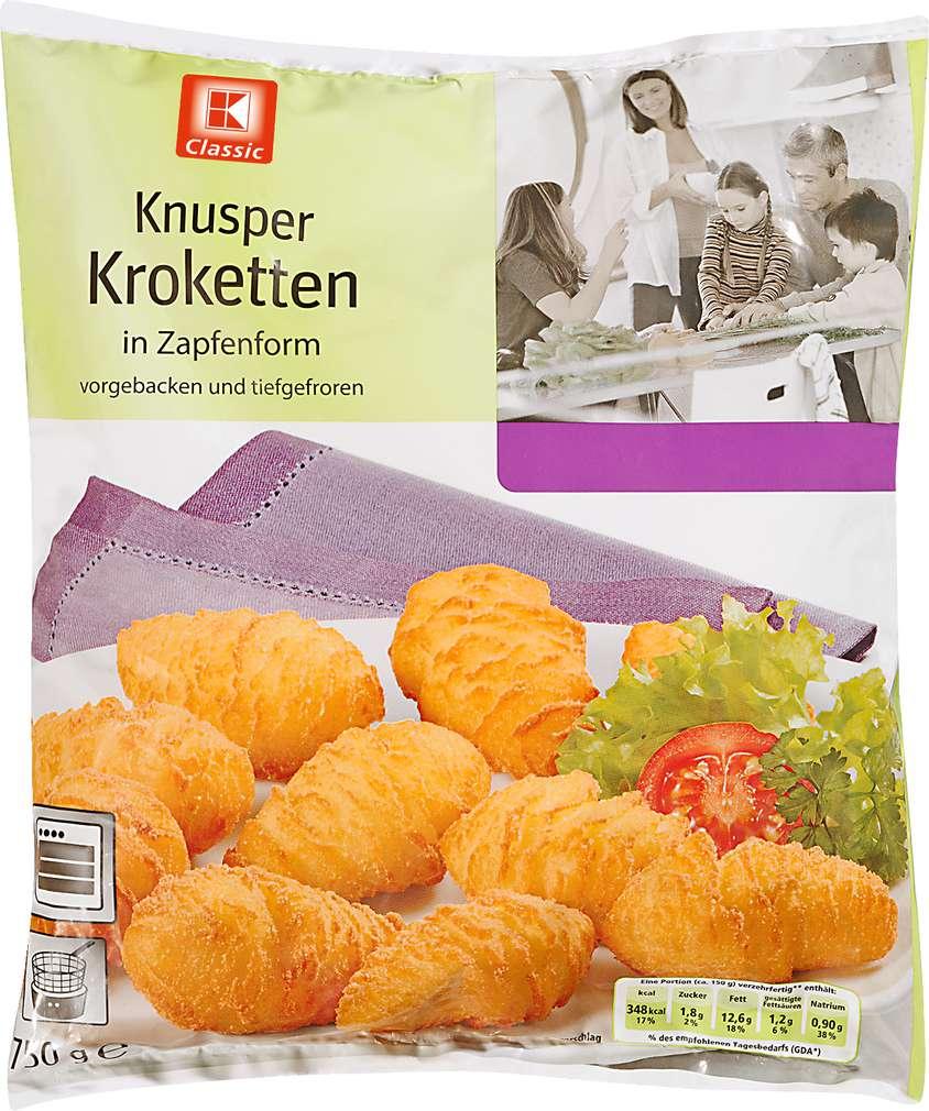 Abbildung des Sortimentsartikels K-Classic Knusper Kroketten 750g