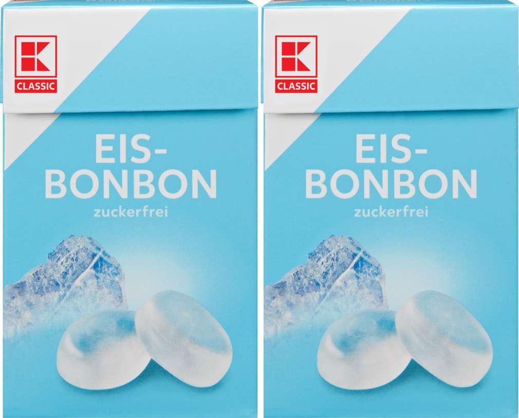 Abbildung des Sortimentsartikels K-Classic Eisbonbons 2x44g