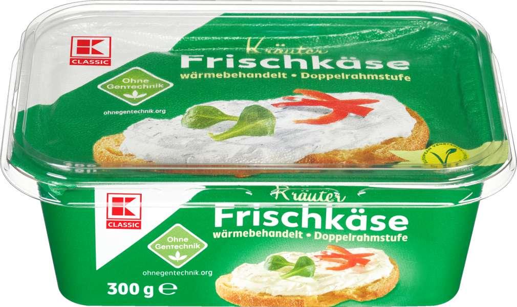 Abbildung des Sortimentsartikels K-Classic Frischkäse Kräuter 70% Fett i.Tr. 300g