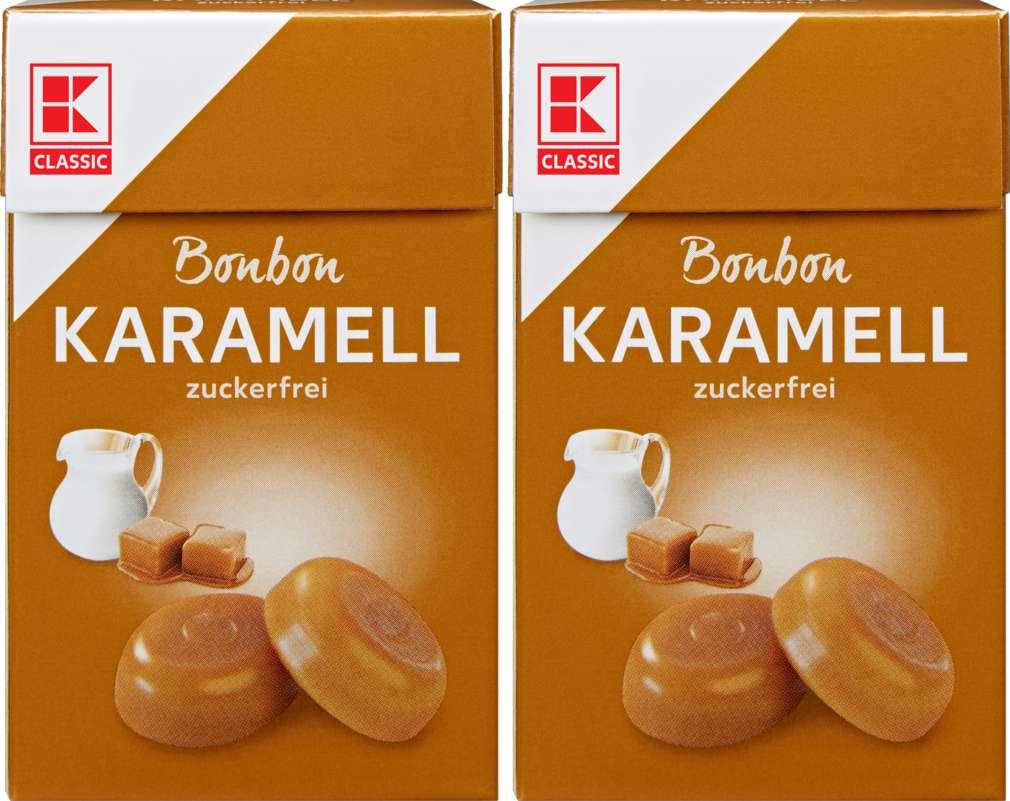 Abbildung des Sortimentsartikels K-Classic Karamell Bonbons 2x44g