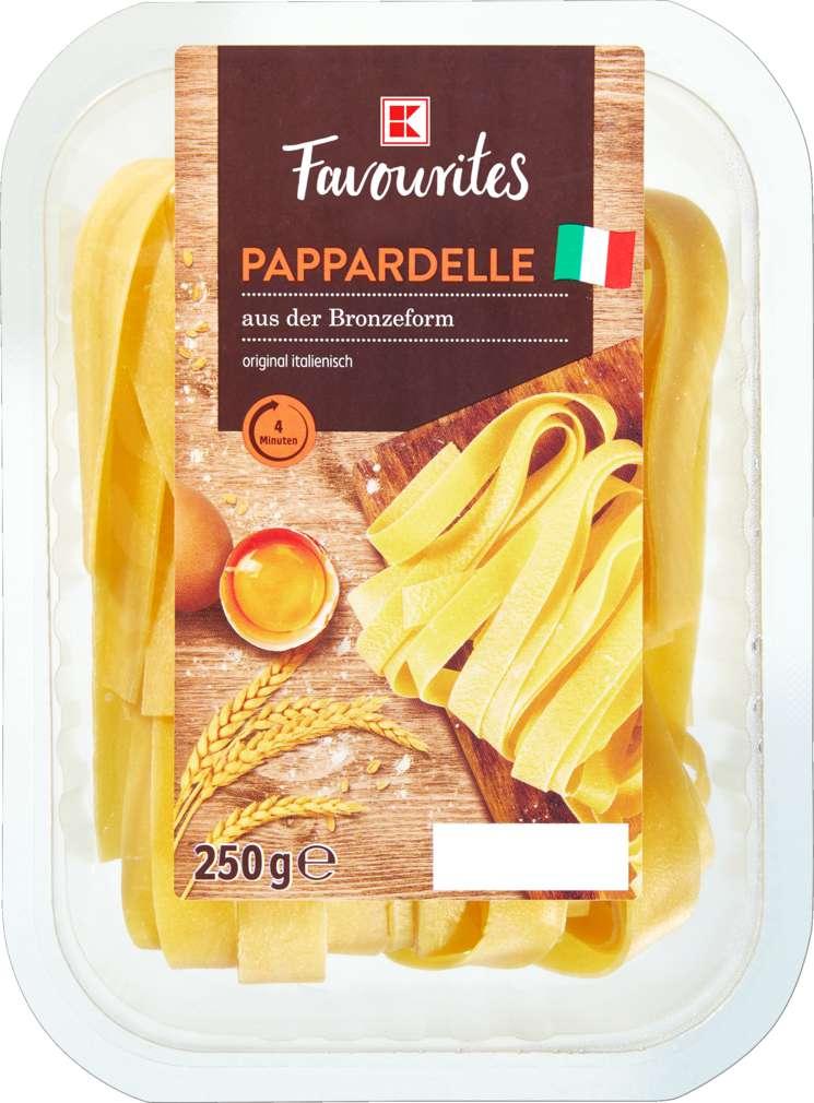 Abbildung des Sortimentsartikels K-Favourites Pappardelle 250g