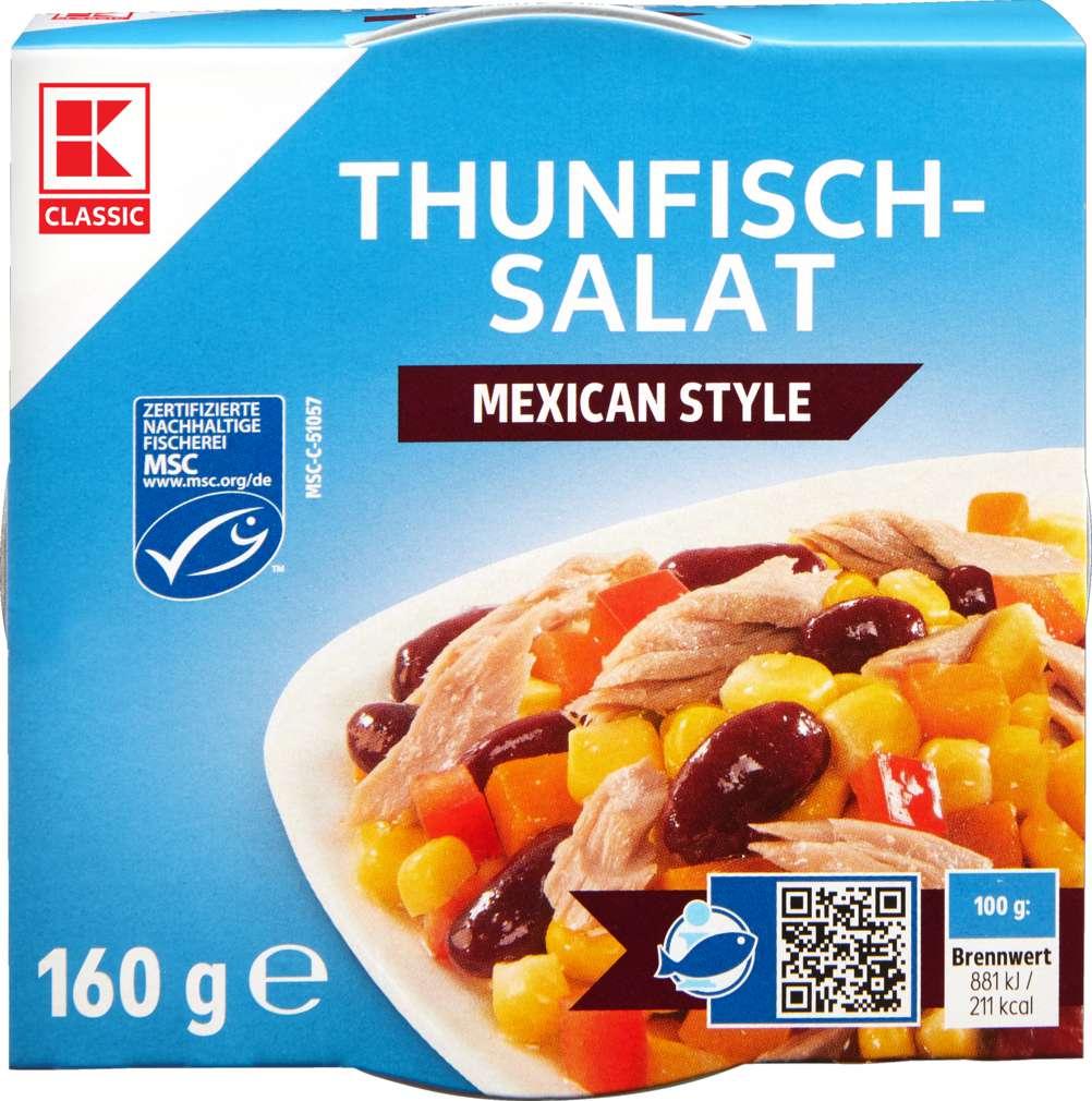 Abbildung des Sortimentsartikels K-Classic Thunfisch-Salat Mexican 160g