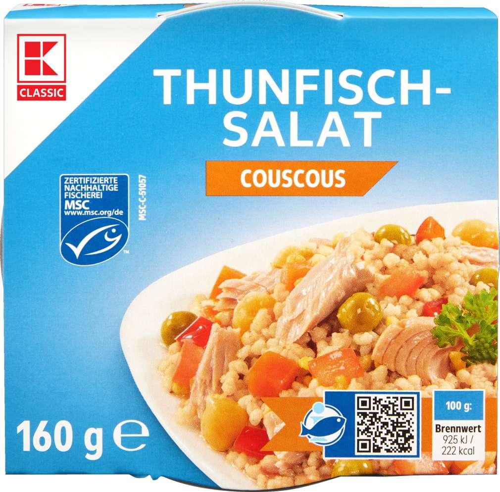 Abbildung des Sortimentsartikels K-Classic Thunfisch-Salat Couscous 160g
