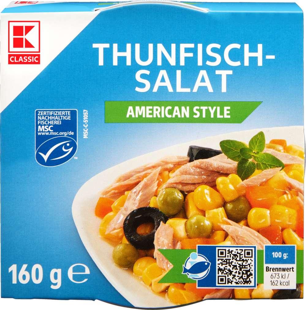 Abbildung des Sortimentsartikels K-Classic Thunfisch-Salat American 160g
