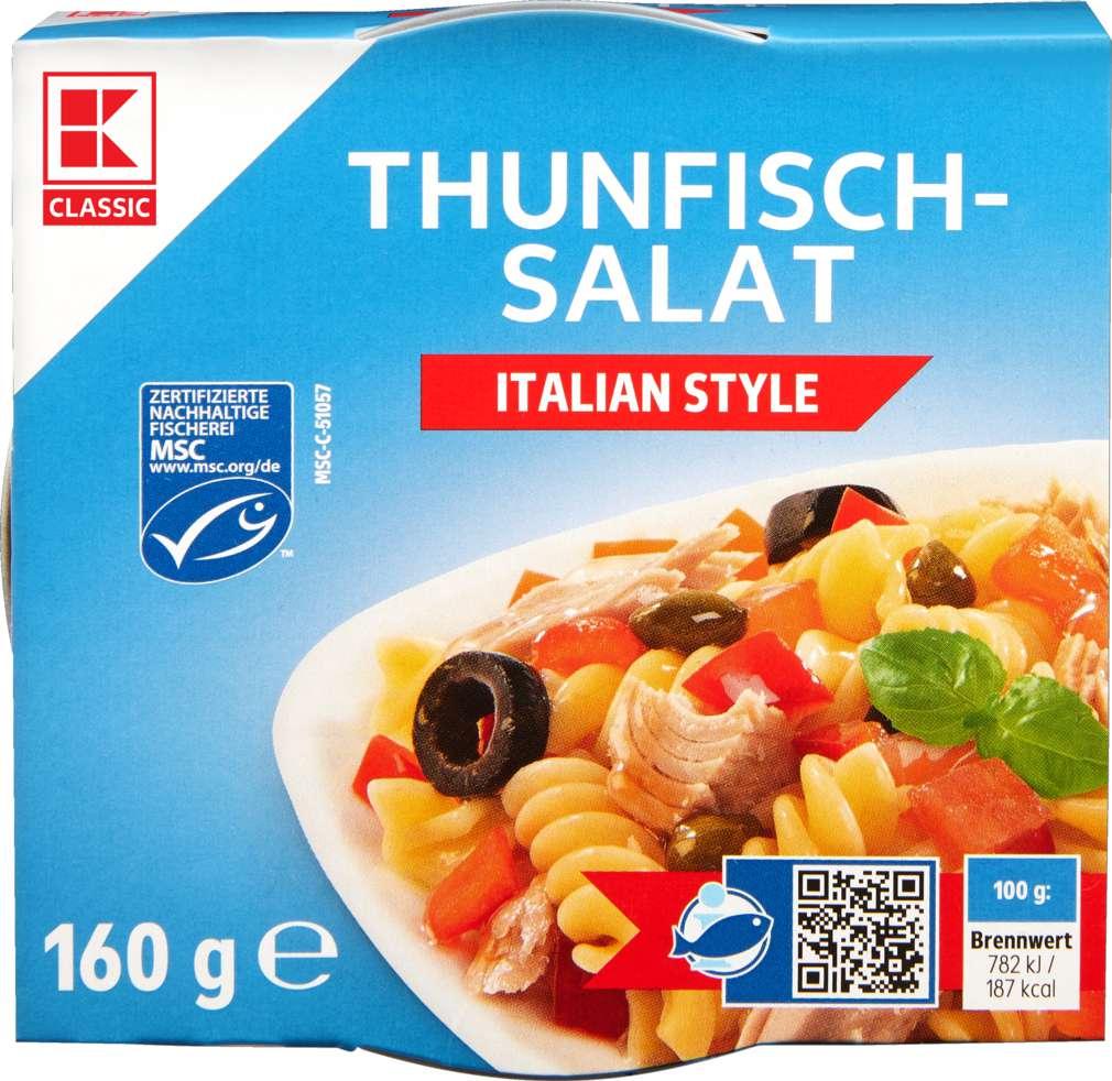 Abbildung des Sortimentsartikels K-Classic Thunfisch-Salat Italien 160g