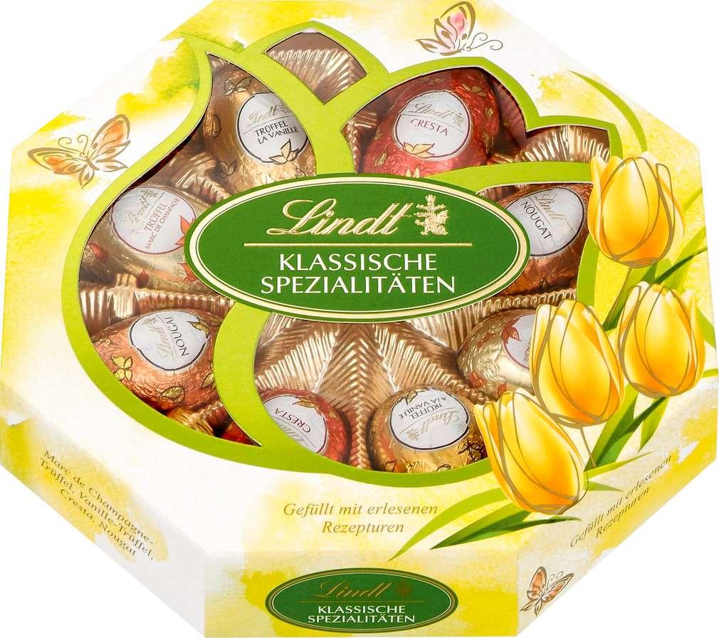 Abbildung des Sortimentsartikels Lindt Klassische Spezialitäten-Eier 144g