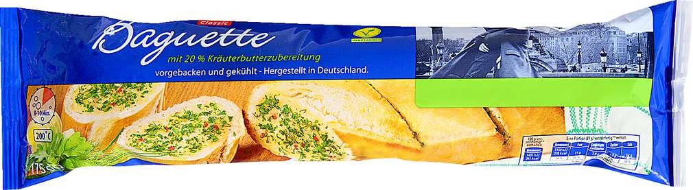 Abbildung des Sortimentsartikels K-Classic Kräuterbaguette 175g