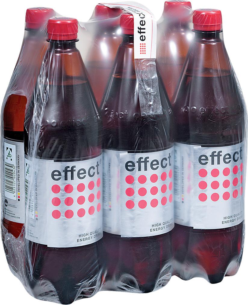 Abbildung des Sortimentsartikels Effect Energy-Drink 6x1l