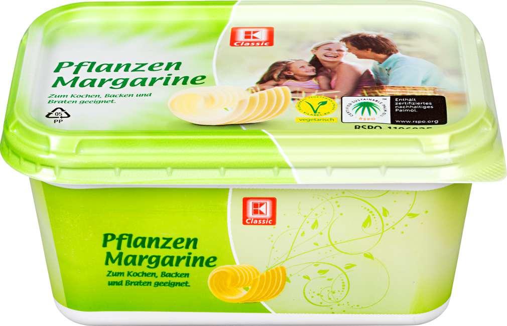 Abbildung des Sortimentsartikels K-Classic Pflanzen-Margarine 500g