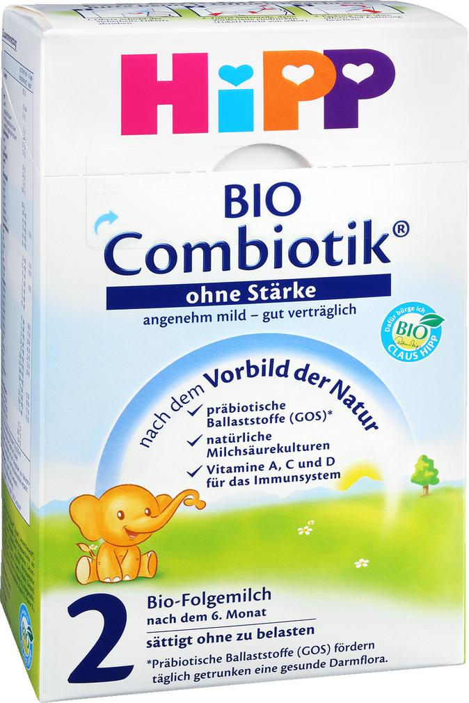 Abbildung des Sortimentsartikels Hipp Combiotik Bio Folgemilch2 ohne Stärke 600g