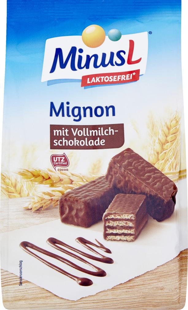 Abbildung des Sortimentsartikels MinusL Mignon 200g