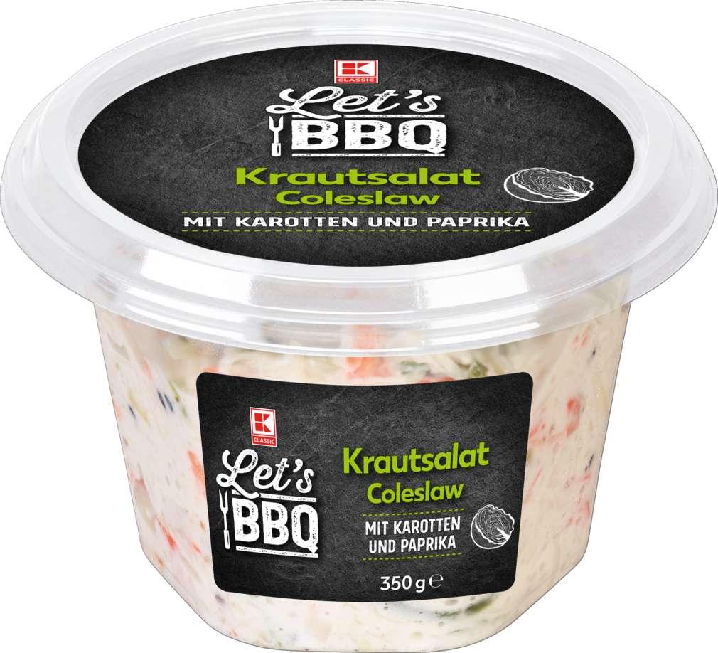 Abbildung des Sortimentsartikels K-Classic Let´s BBQ Coleslaw 350g