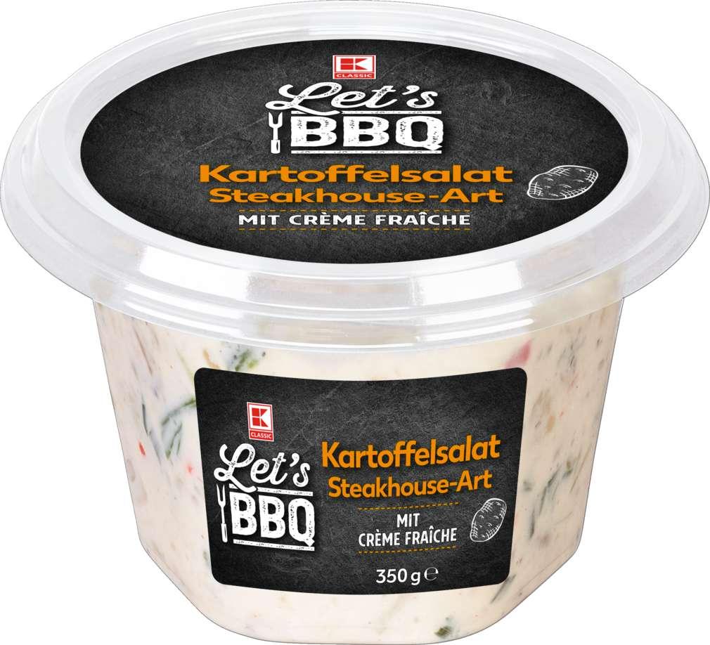 Abbildung des Sortimentsartikels K-Classic Let´s BBQ Kartoffelsalat Steakhouse 350g