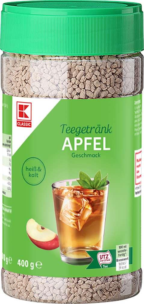 Abbildung des Sortimentsartikels K-Classic Teegetränk Apfel 400g