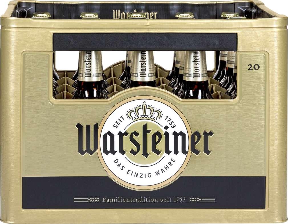 Abbildung des Sortimentsartikels Warsteiner Premium Pilsener 20x0,5l